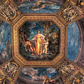 Vatican Museum Ceiling by E R Smith
