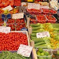 Vegetables At Italian Market by Carol Groenen