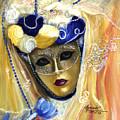 venetian carneval mask V by Leonardo Ruggieri