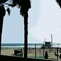 Venice Beach California by Phill Petrovic
