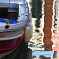 Venice Boat Reflection by Jeff White