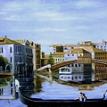 Venice Canal Ride by Jim Horton