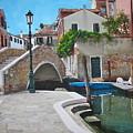 Venice Piazzetta And Bridge by Italian Art