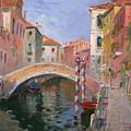 Venice Ponte Vendrraria by Ylli Haruni