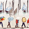 Venice Rain by Julia Collard