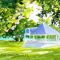 Veterans Park Gazebo by Anne Marie Brown