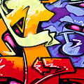 Vibrant Graffiti by Richard Thomas