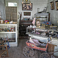 Victorian Toy Shop - Virginia City Montana by Daniel Hagerman