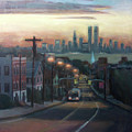 Victory Boulevard At Dawn by Sarah Yuster