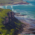 View Across Frazer Beach  Nsw Australia by Graham Gercken