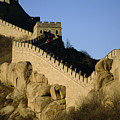 View Of A Section Of The Great Wall by Michael S. Yamashita