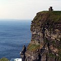 View Of Aran Islands And Cliffs Of Moher County Clare Ireland  by Teresa Mucha