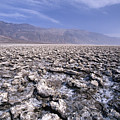 View Of The Devil's Golf Course Death Valley California by George Oze