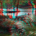 View To The Cove - Use Red-cyan 3d Glasses by Brian Wallace