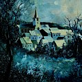 Village In Winter by Pol Ledent