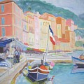 Ville Franche Boat by Pixie Glore