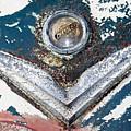 Vintage Chrysler Emblem by Julie Niemela