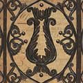 Vintage Iron Scroll Gate 2 by Debbie DeWitt
