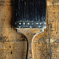 Vintage Paint Brush by Jill Battaglia