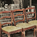 Vintage Seating by JAMART Photography