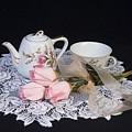 Vintage Tea Set by Trudy Wilkerson