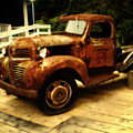 Vintage Truck by Diane Smith