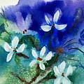 Violets 2 by Ruth Bevan