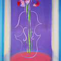 Violin Vase by Charles Stuart