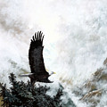 Voice Of The Eagle Reaches Toward The Heavens by Bob Patterson