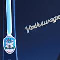 Volkswagen Vw Bug Hood Emblem by Jill Reger