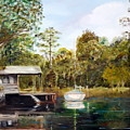 Waccamaw River Sloop by Phil Burton