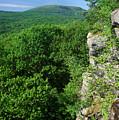 Wachusett Mountain From Crow Hill by John Burk