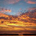 Waikiki Sunset by Kerri Ligatich