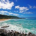 Waimea Bay by Ty Helbach