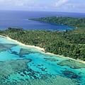 Wakaya Island Aerial by Larry Dale Gordon - Printscapes