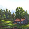 Walhalla Barn by Jerry Walker
