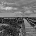 Walk To The Beach Alantic Beaches Nc by Tommy Anderson