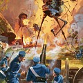 War Of The Worlds by Barrie Linklater