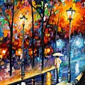 Warm Winter by Leonid Afremov
