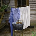 Wash Day by Judy  Waller