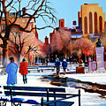 Washington Square by John Tartaglione