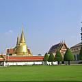 Wat Po Bangkok Thailand 37 by Douglas Barnett