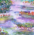 Water Lilies by Janpen Sherwood