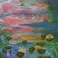 Water Lily Pond 2 by Barbara Harper