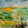 Watercolor 014091 by Pol Ledent