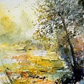 Watercolor  050906 by Pol Ledent
