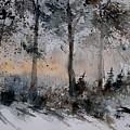 Watercolor  141206 by Pol Ledent
