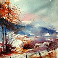 Watercolor 221108 by Pol Ledent