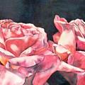 Watercolor Roses by Diane Ziemski
