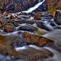Waterfall Canyon Vertical by Scott Mahon